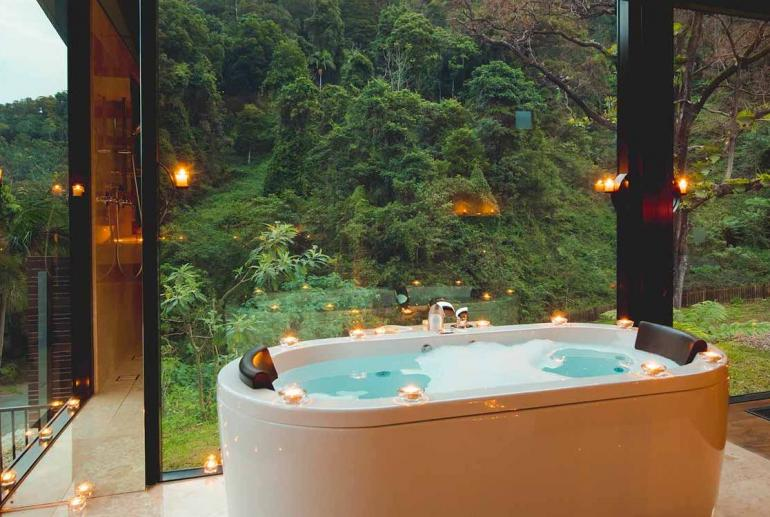 Mountain View Lodges, Crystal Creek Rainforest Retreat, Tweed Valley, New South Wales