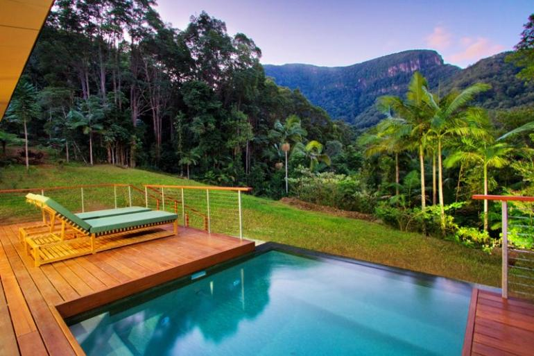 Mountain View Lodges Upper Crystal Creek Byron Bay